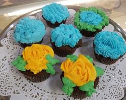 Chocolate Spring Cupcakes