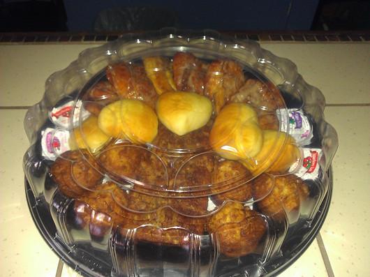 Breakfast Bread Tray