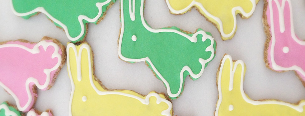 Easter Bunny Dog Treats