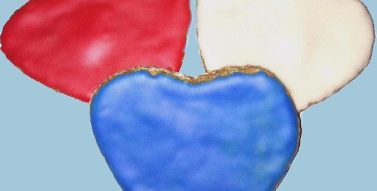 Hearts - 6 per order