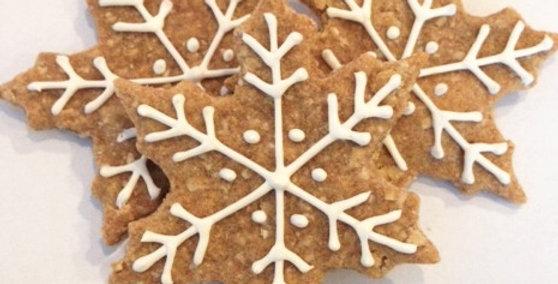 Snowflake Dog Treats