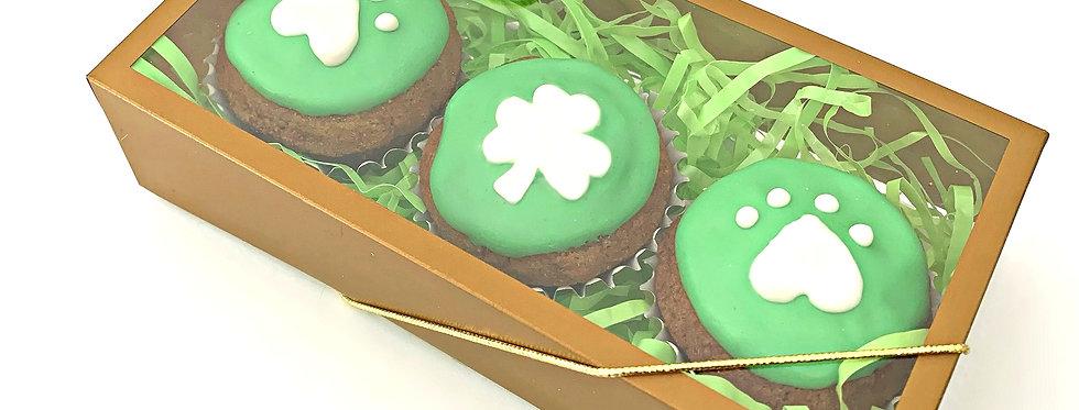 St. Patrick Pupcakes - 3 per order