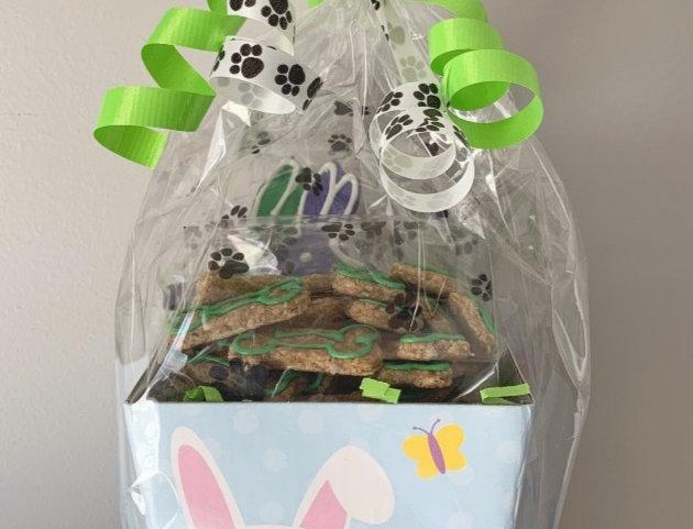 Easter Bunny Basket - 1 bag of treats
