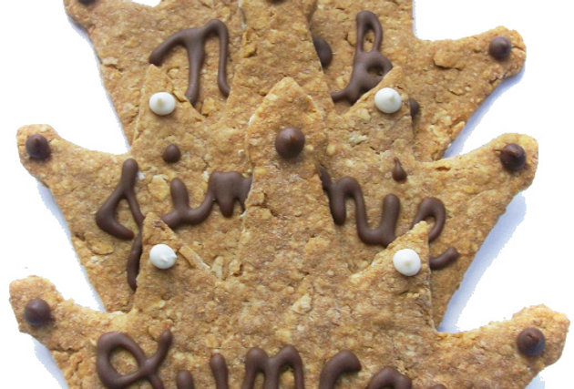 Personalized Crown Dog Treats
