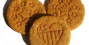 Patriotic Stamped Dog Cookies