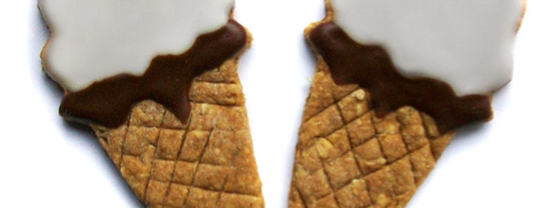 Ice Cream Cone Dog Treats