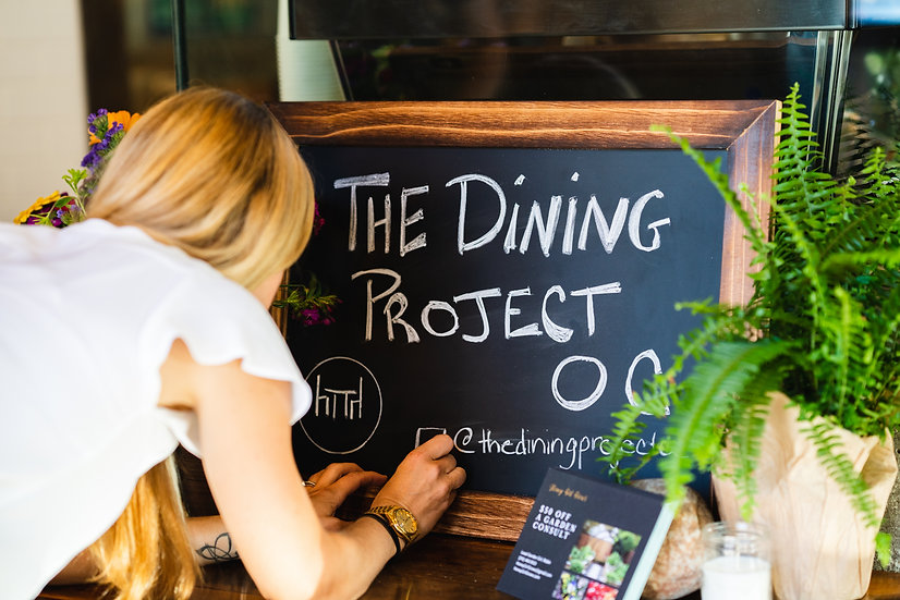 A Dining Project Experience - 5 Courses