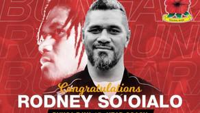 Rodney So'oialo nommé sélectionneur de la Malaisie!
