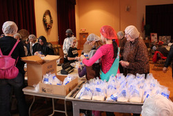 Food Packing at St. Michaels