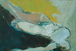 Horizontal, Oil on Canvas, 146x97