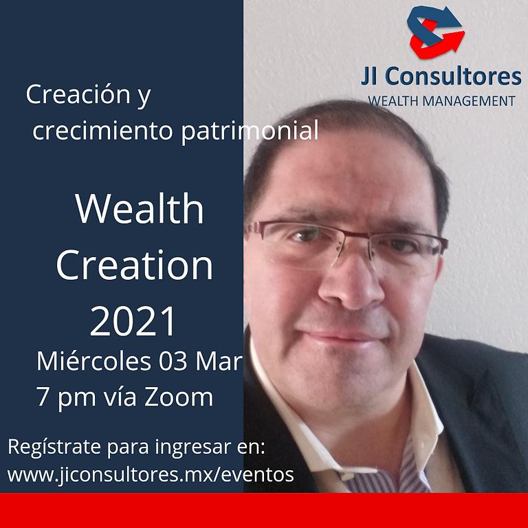 Wealth Creation 2021. Inversiones inteligentes.