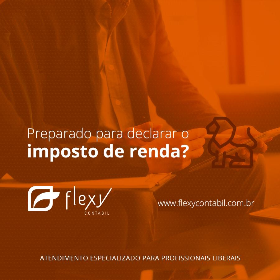 Declare seu IRPF com a Flexy Contábil