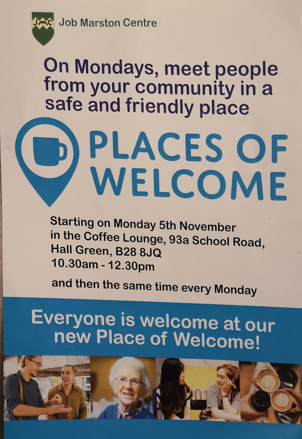 Flyer for Place of Welcome