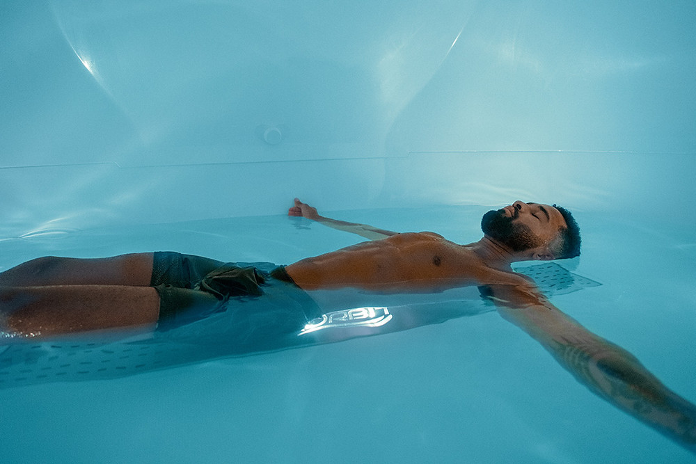 Relax yourself in the Orbit Float Tank