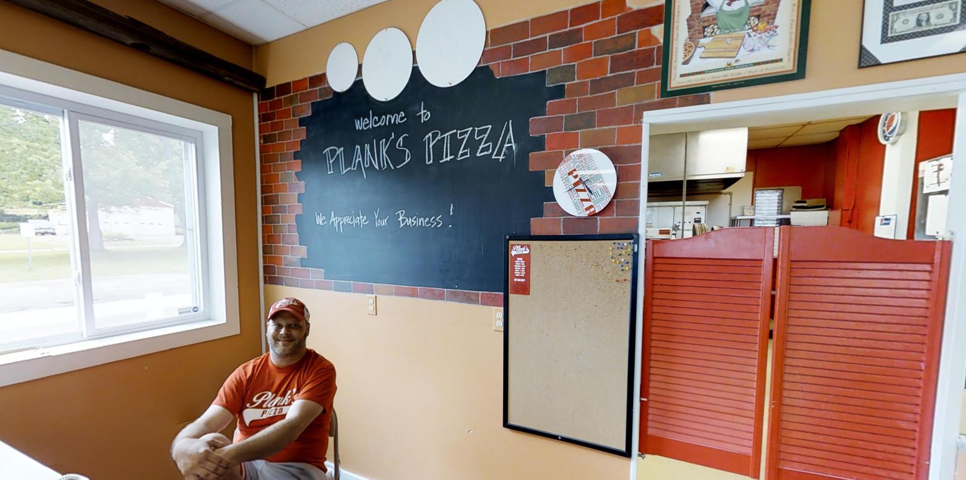 Planks Pizza