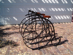 Bike Rack East Village, Des Moines