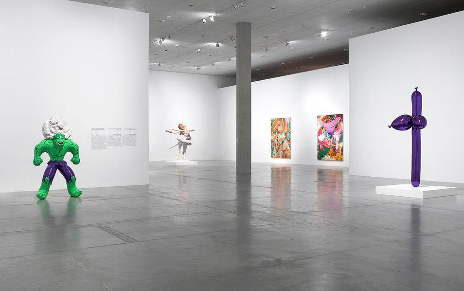 Jeff Koons_Tel Aviv Museum_(Photo By Ela