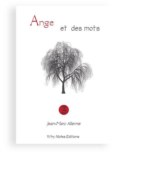 ANGE ET DES MOTS Vol. 3