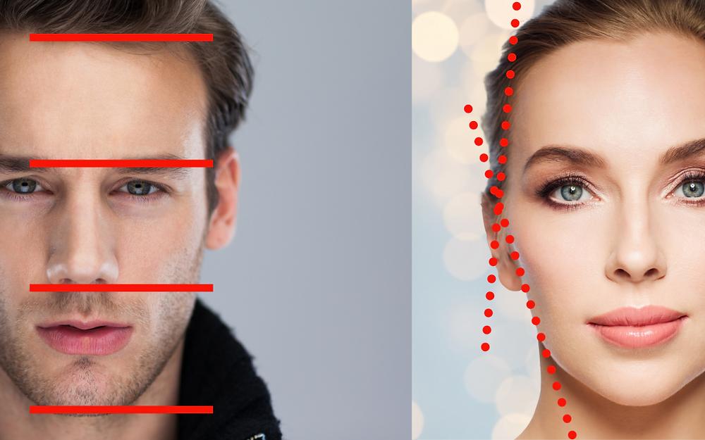 O visagismo é o estudo e harmonia facial. Identidade visual.