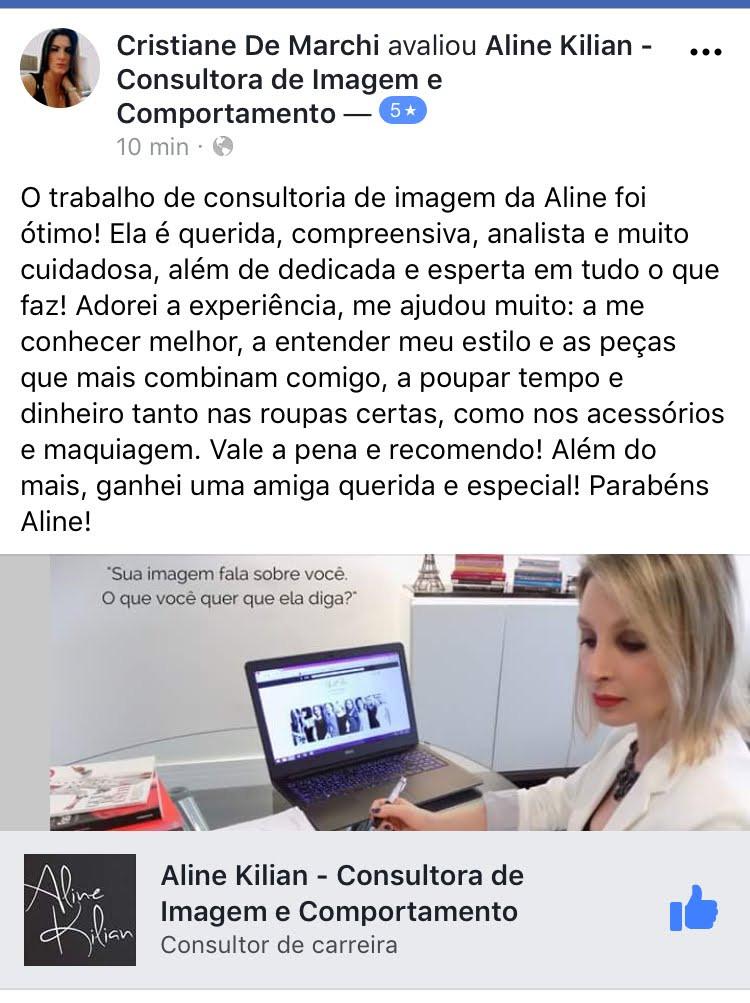 Aline Kilian Consultora de Imagem
