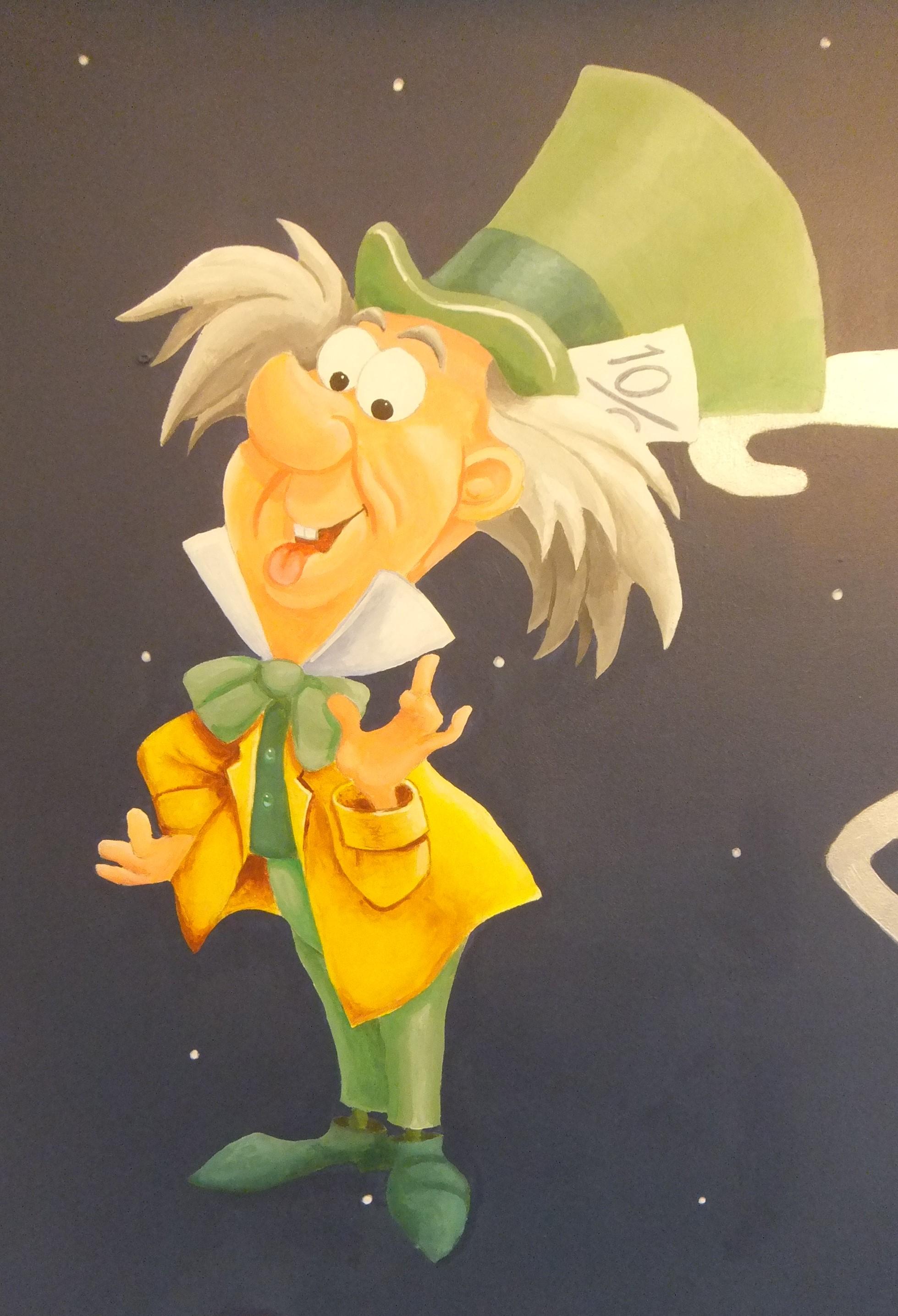 Disney Mad Hatter Alice in Wonderland