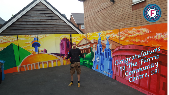 Congratulations to The Florrie on winning the Danny Boyle film mural