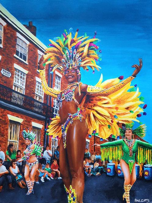 Liverpool's Carnival Queen Print