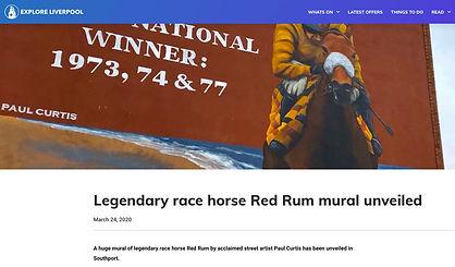 Explore Liverpool, Red Rum report