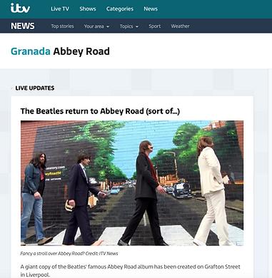 ITV- Paul Curtis- Abbey Road