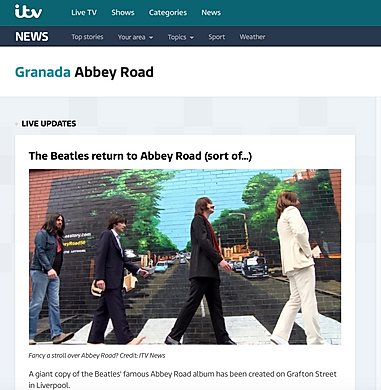 ITV- Paul Curtis- Abbey Road