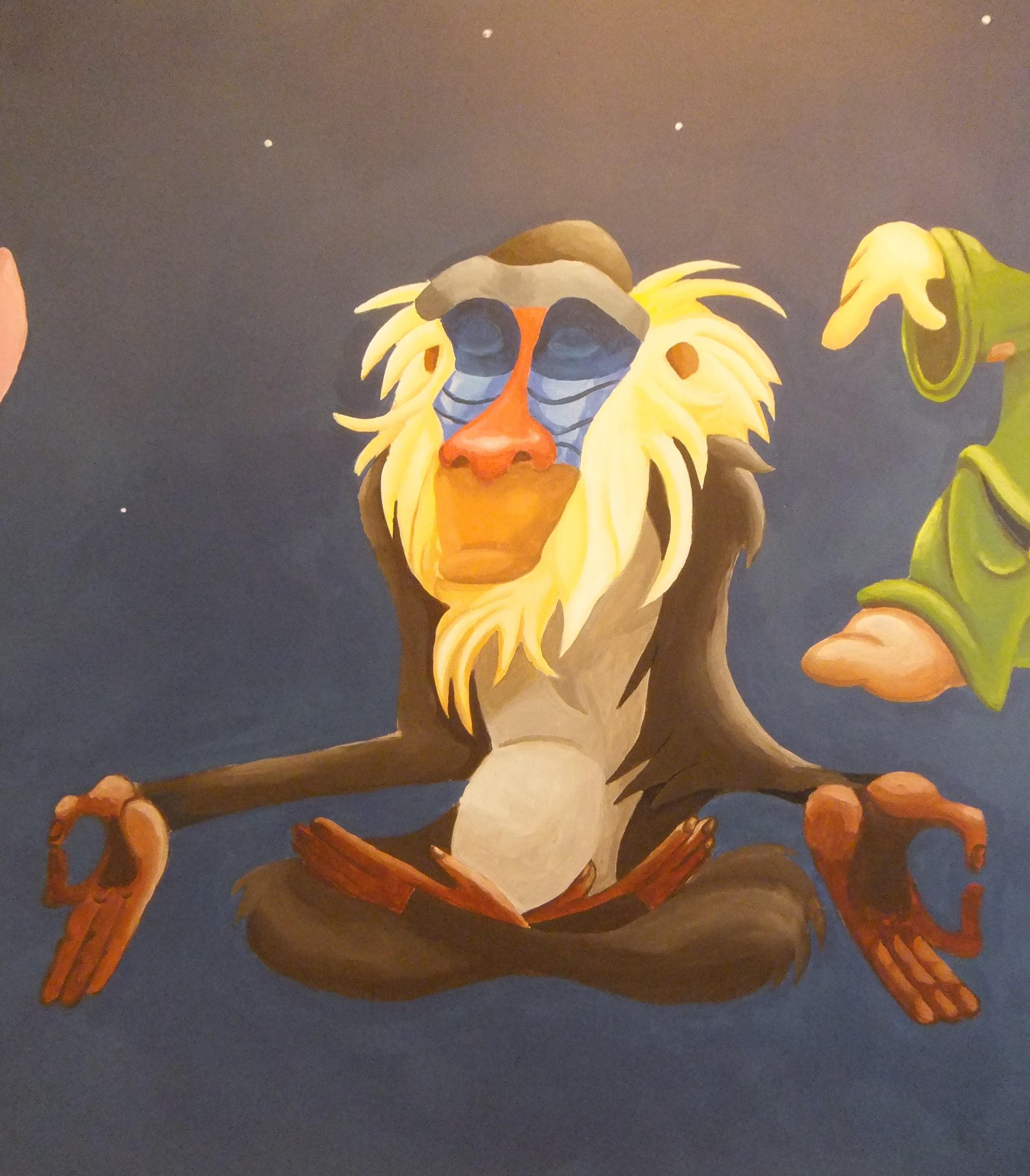Disney Rafiki Lion King Monkey