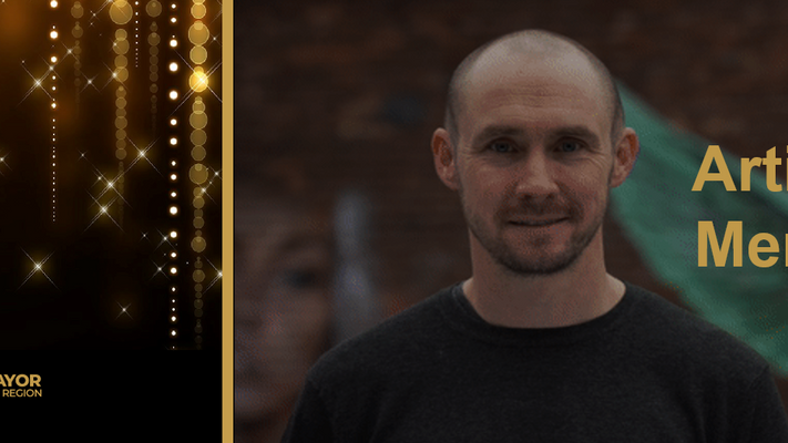 Paul Curtis is Merseyside Artist of the Year 2020