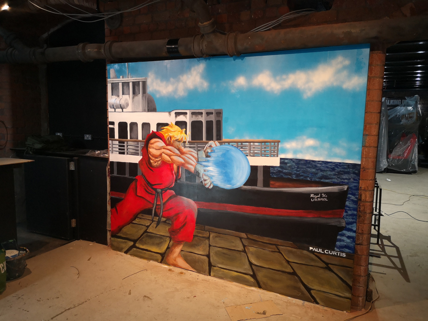 Street fighter Ken, Liverpool, Paul Curt