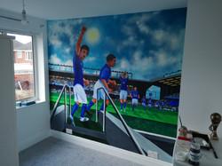 Everton FC Mural