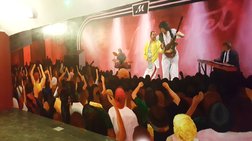 Magnet Freddie Mercury Mural