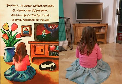 Little Girl Roald Dahl