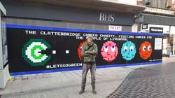 Liverpool artist, Paul Curtis