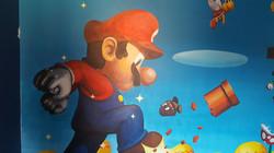 Super Mario Bedroom Mural
