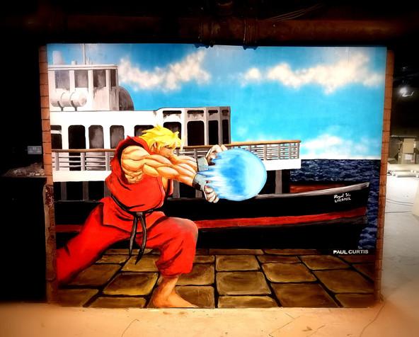 Street fighter Ken- Paul Curtis