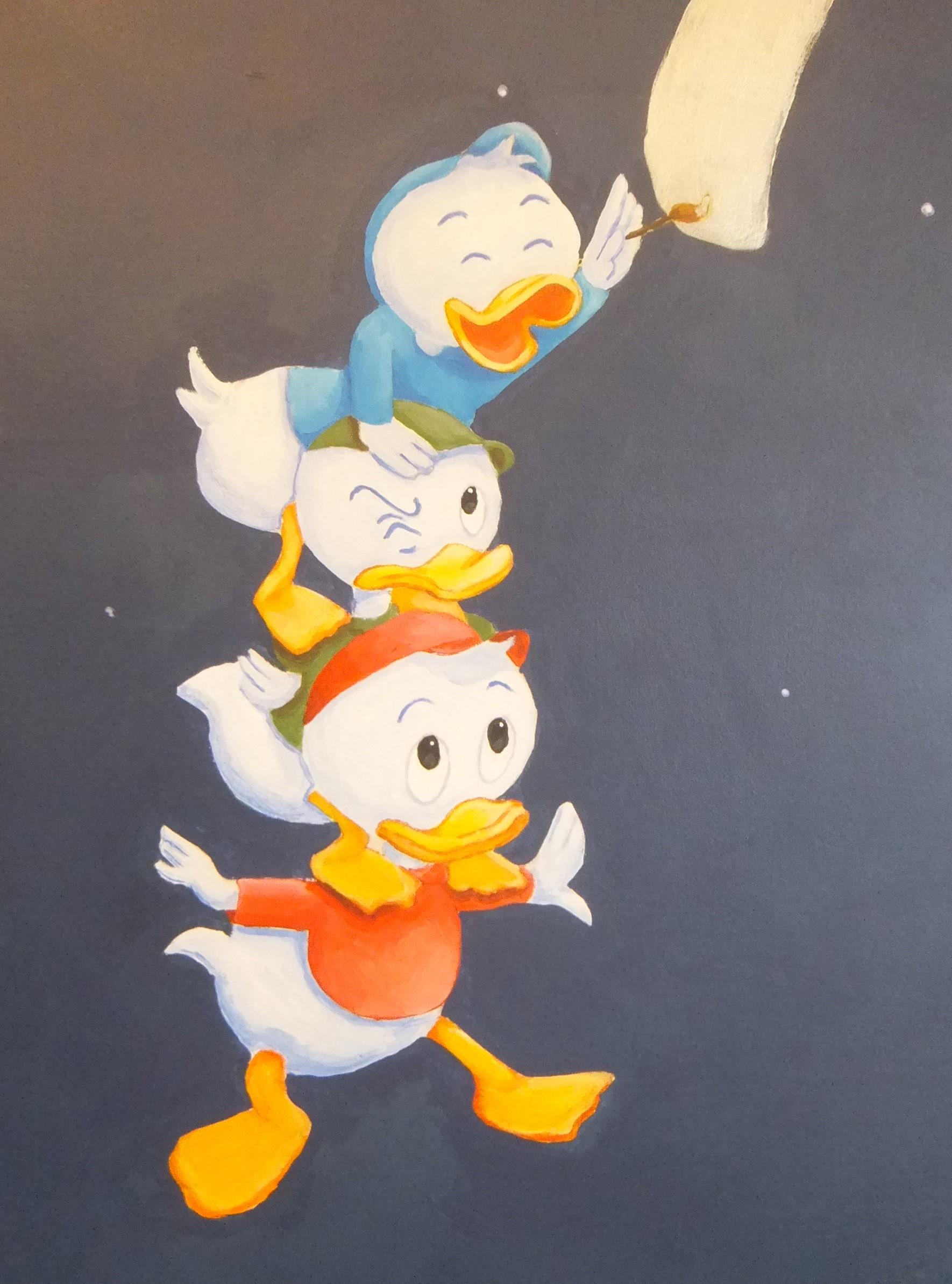 Disney Huey Louie Dewey Duck