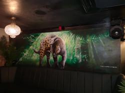 Black Panther Mural
