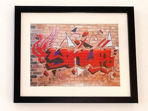 YNWA Graffiti Print.