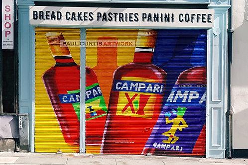 Campari Bakery Print