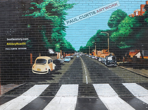 Abbey Road, Baltic Triangle, Liverpool. Print