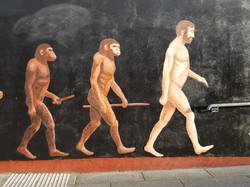 Missing link mural