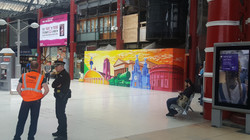 Mural at Liverpool Lime Street