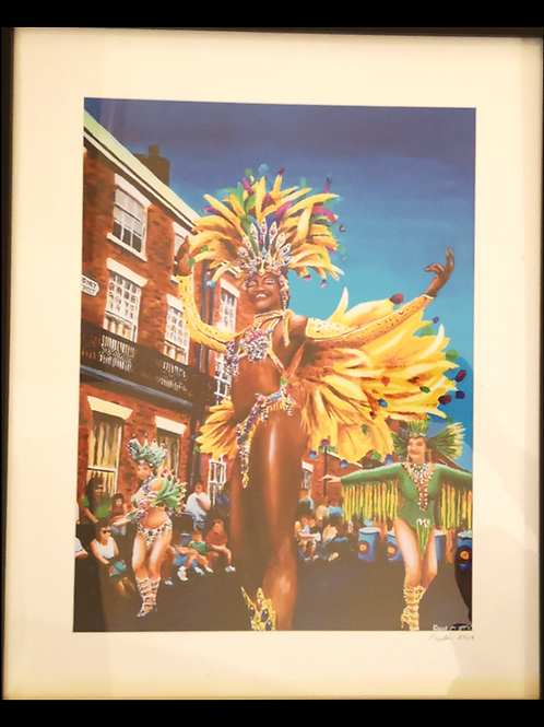 Liverpool's Carnival Queen Print