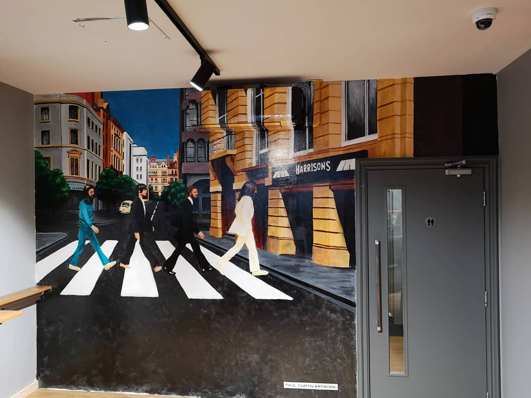The Beatles Victoria Street