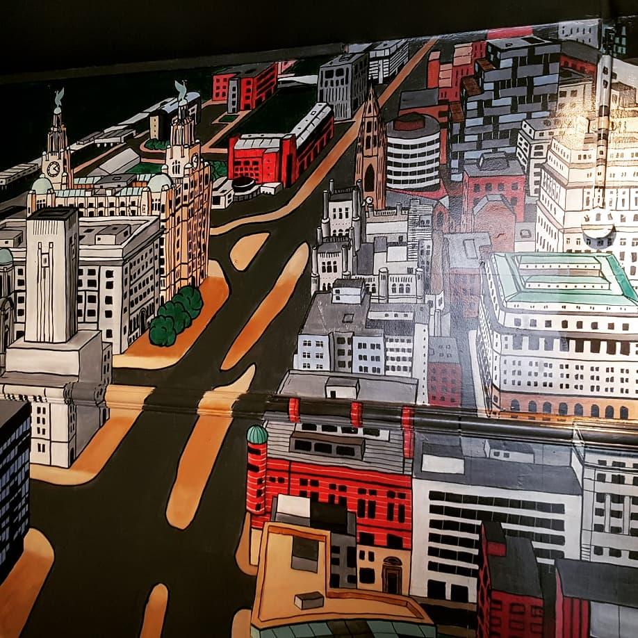 Cityscape Mural