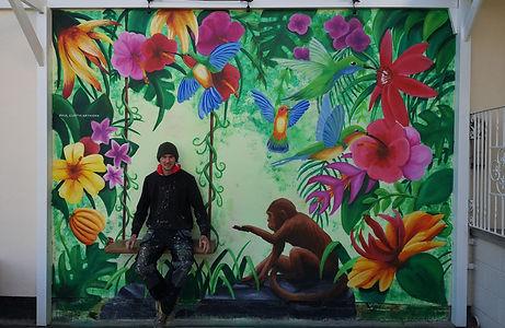 Paul Curtis Artwork Thornton Hall